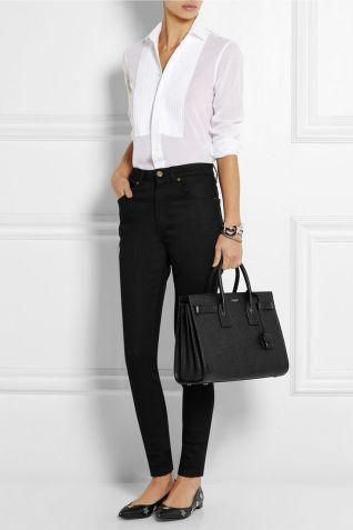 Stylish leather tote bags for work 98