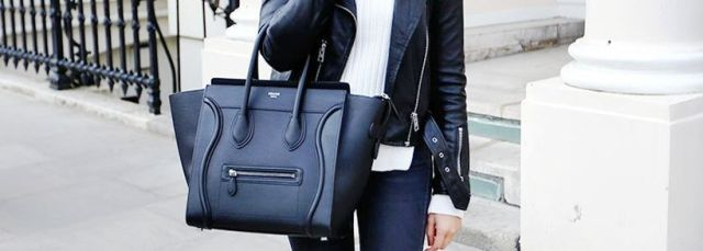 Stylish leather tote bags for work featured