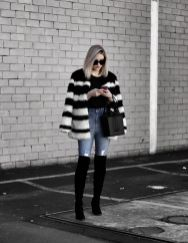 Trendy over the knee boots for winter and fall outfits 1