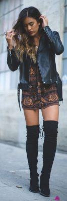 Trendy over the knee boots for winter and fall outfits 30