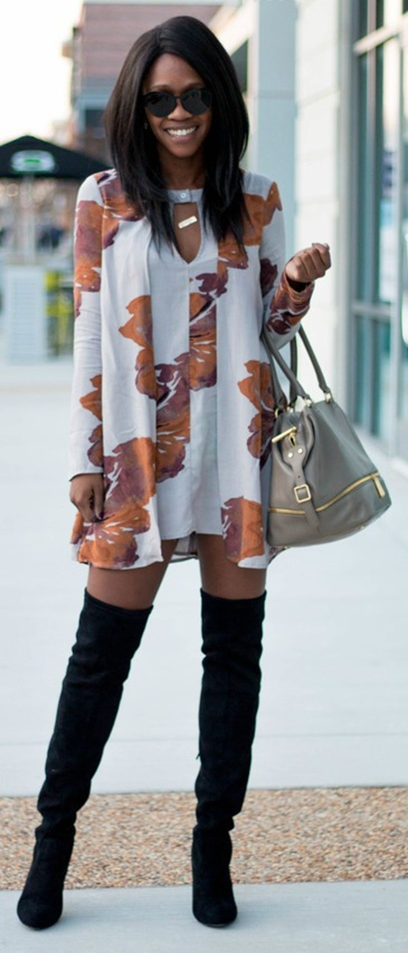 Trendy over the knee boots for winter and fall outfits 62
