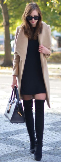 Trendy over the knee boots for winter and fall outfits 64