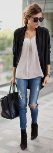 Best casual fall night outfits ideas for going out 18