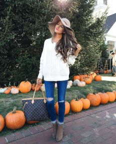 Best casual fall night outfits ideas for going out 49