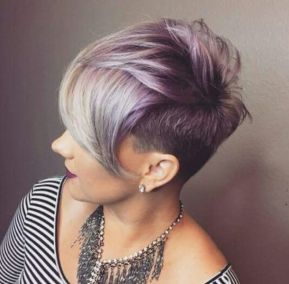 Cool short pixie ombre hairstyle ideas 13
