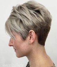 Cool short pixie ombre hairstyle ideas 23