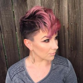 Cool short pixie ombre hairstyle ideas 40