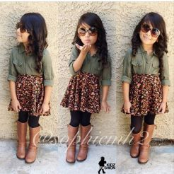 Cute fall outfits ideas for toddler girls 30
