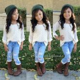Cute fall outfits ideas for toddler girls 56