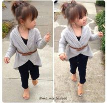 Cute fall outfits ideas for toddler girls 58