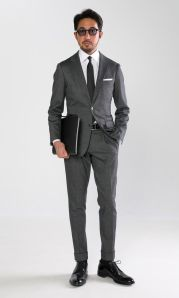 Elegant men's formal wear with tuxedo and suits 105