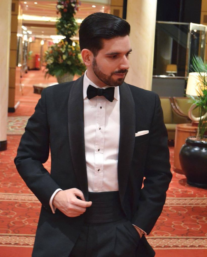 Elegant men's formal wear with tuxedo and suits 110