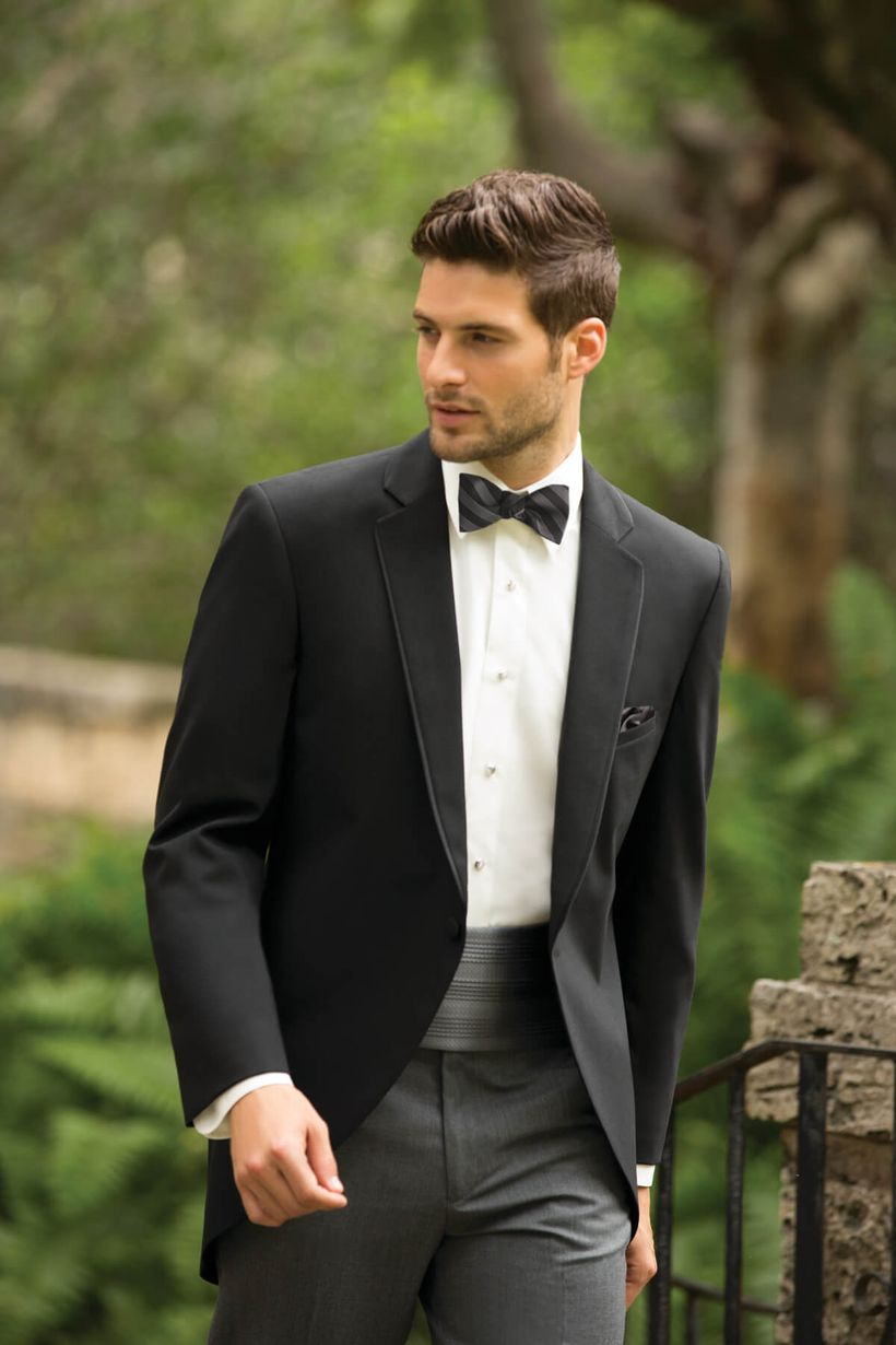 Elegant men's formal wear with tuxedo and suits 112