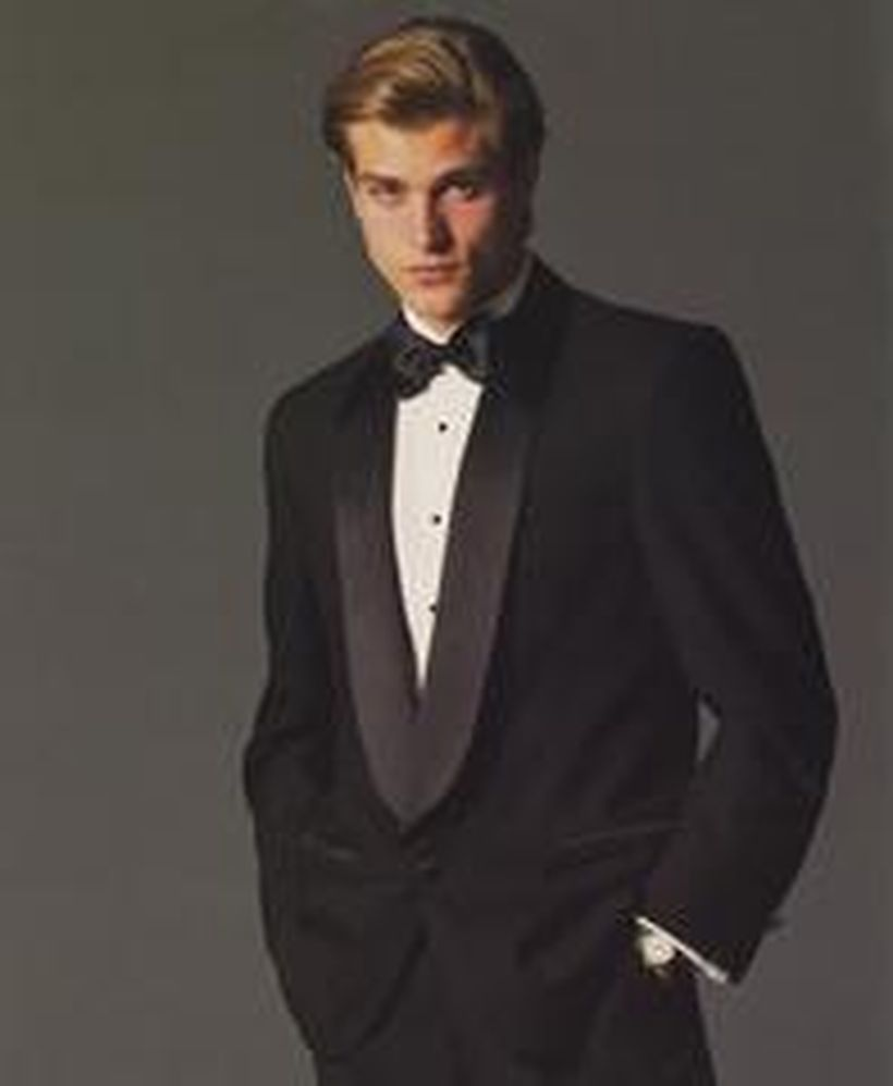 Elegant men's formal wear with tuxedo and suits 122