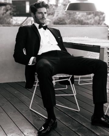 Elegant men's formal wear with tuxedo and suits 129