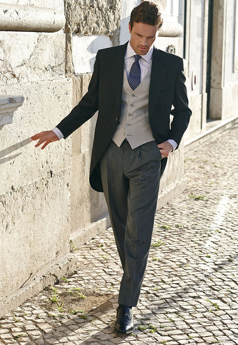 Elegant men's formal wear with tuxedo and suits 134