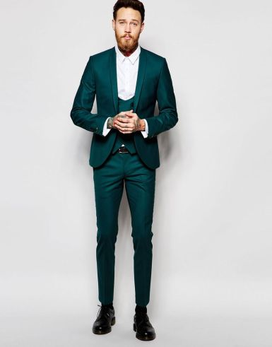 Elegant men's formal wear with tuxedo and suits 26