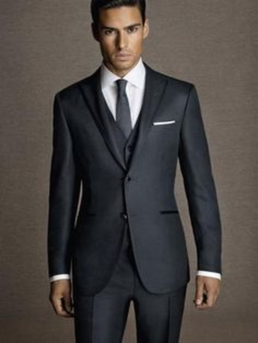 Elegant men's formal wear with tuxedo and suits 30