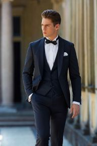 Elegant men's formal wear with tuxedo and suits 31