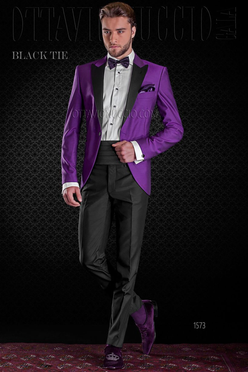 Elegant men's formal wear with tuxedo and suits 37