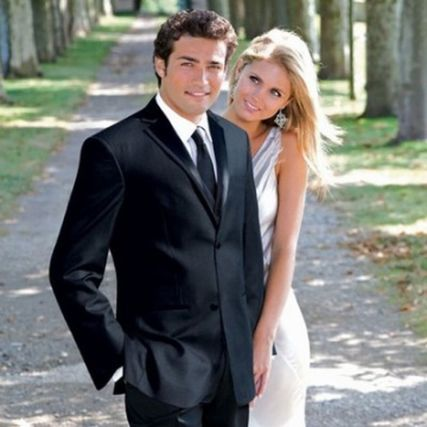 Elegant men's formal wear with tuxedo and suits 38