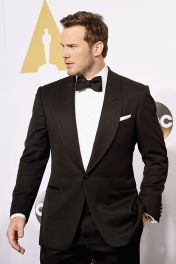 Elegant men's formal wear with tuxedo and suits 40