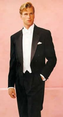 Elegant men's formal wear with tuxedo and suits 59