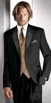 Elegant men's formal wear with tuxedo and suits 71