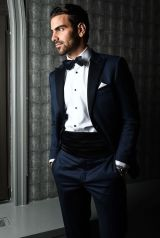 Elegant men's formal wear with tuxedo and suits 8