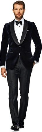 Elegant men's formal wear with tuxedo and suits 85