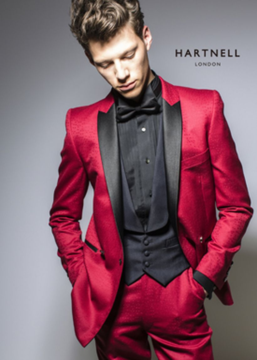 Elegant men's formal wear with tuxedo and suits 97