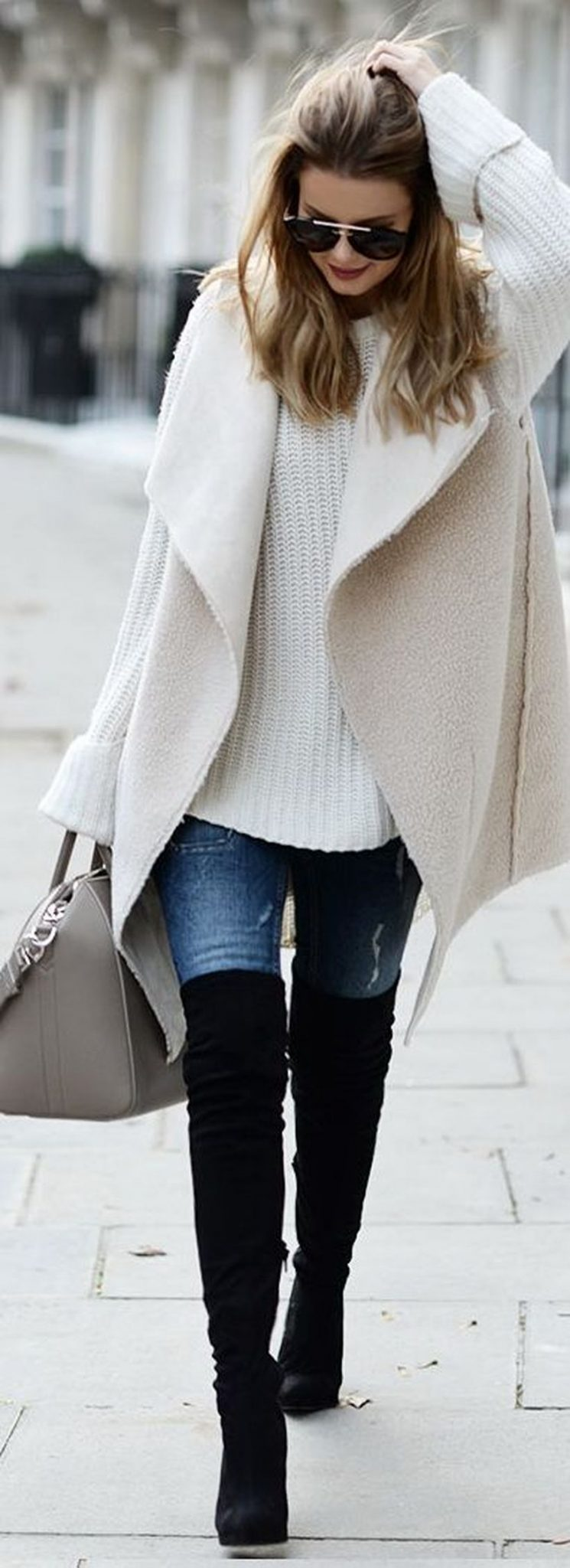 Fashionable outfit style for winter 2017 18