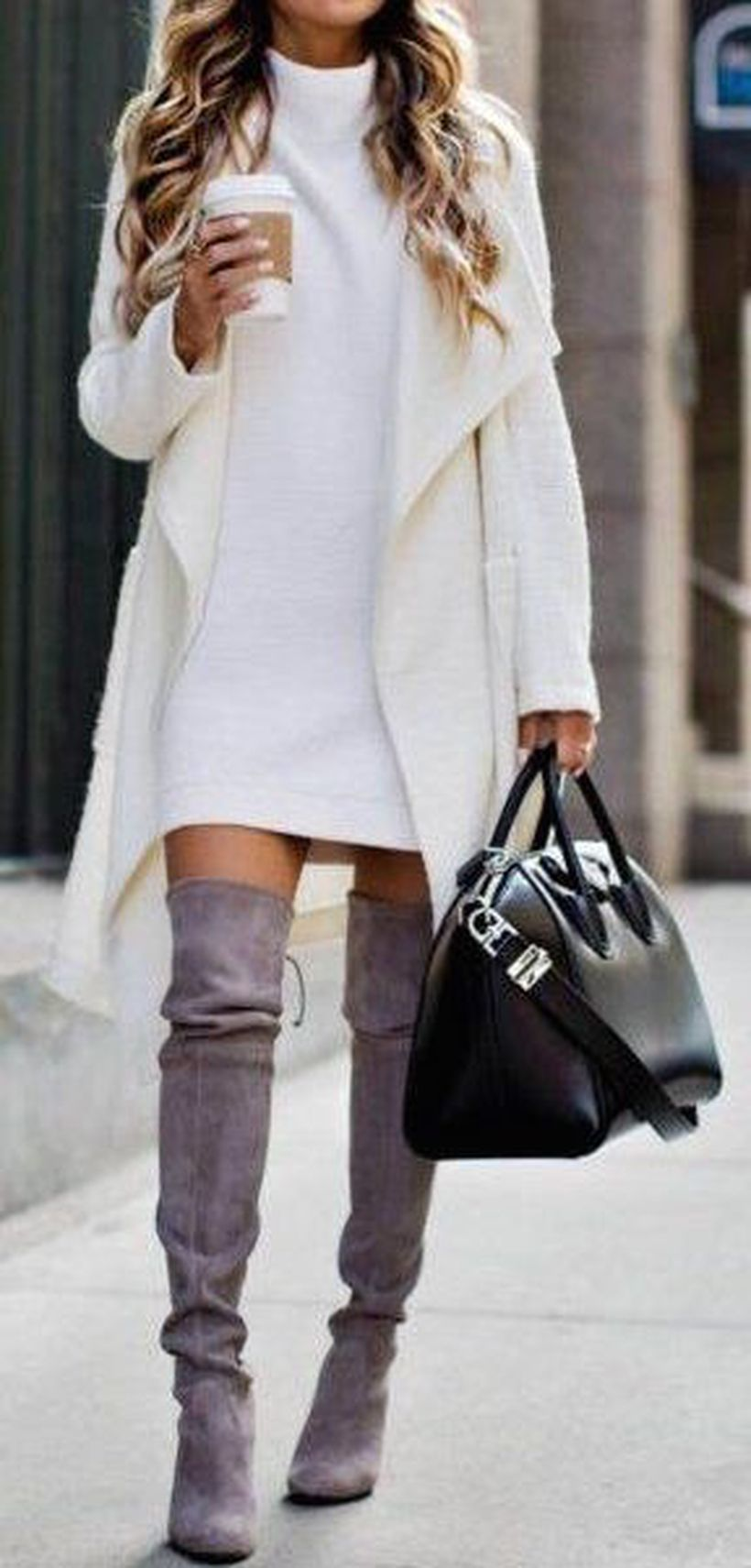 Fashionable outfit style for winter 2017 42