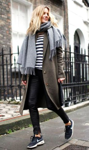 Fashionable outfit style for winter 2017 53