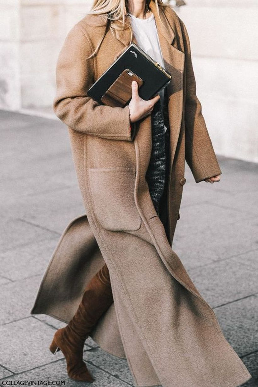 Fashionable outfit style for winter 2017 58
