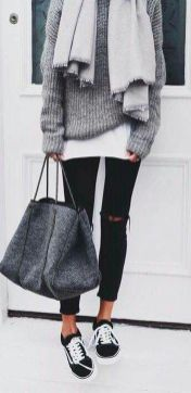 Fashionable outfit style for winter 2017 63