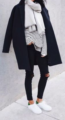 Fashionable outfit style for winter 2017 66