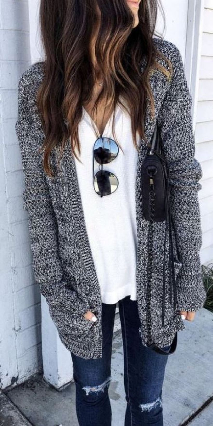 Fashionable outfit style for winter 2017 69