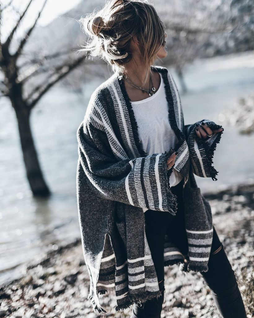 Fashionable outfit style for winter 2017 8