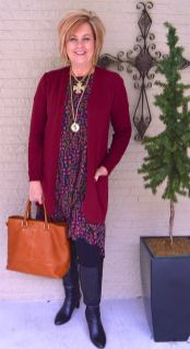 Fashionable over 50 fall outfits ideas 102
