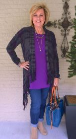 Fashionable over 50 fall outfits ideas 113
