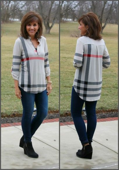 Fashionable over 50 fall outfits ideas 128