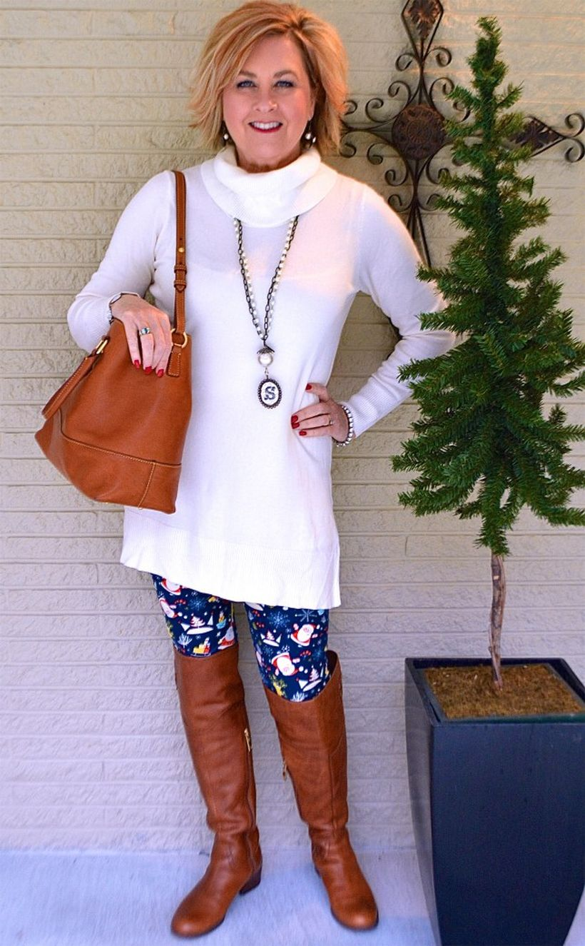 Fashionable over 50 fall outfits ideas 13