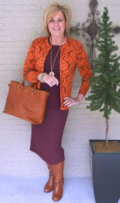 Fashionable over 50 fall outfits ideas 34