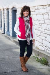 Fashionable over 50 fall outfits ideas 36