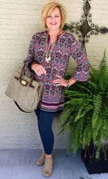 Fashionable over 50 fall outfits ideas 38