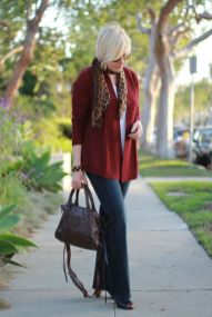 Fashionable over 50 fall outfits ideas 54