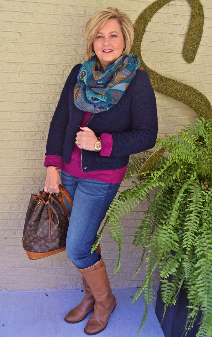 Fashionable over 50 fall outfits ideas 56