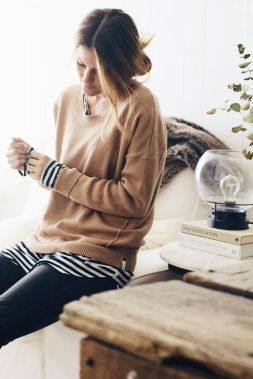 Fashionable over 50 fall outfits ideas 68