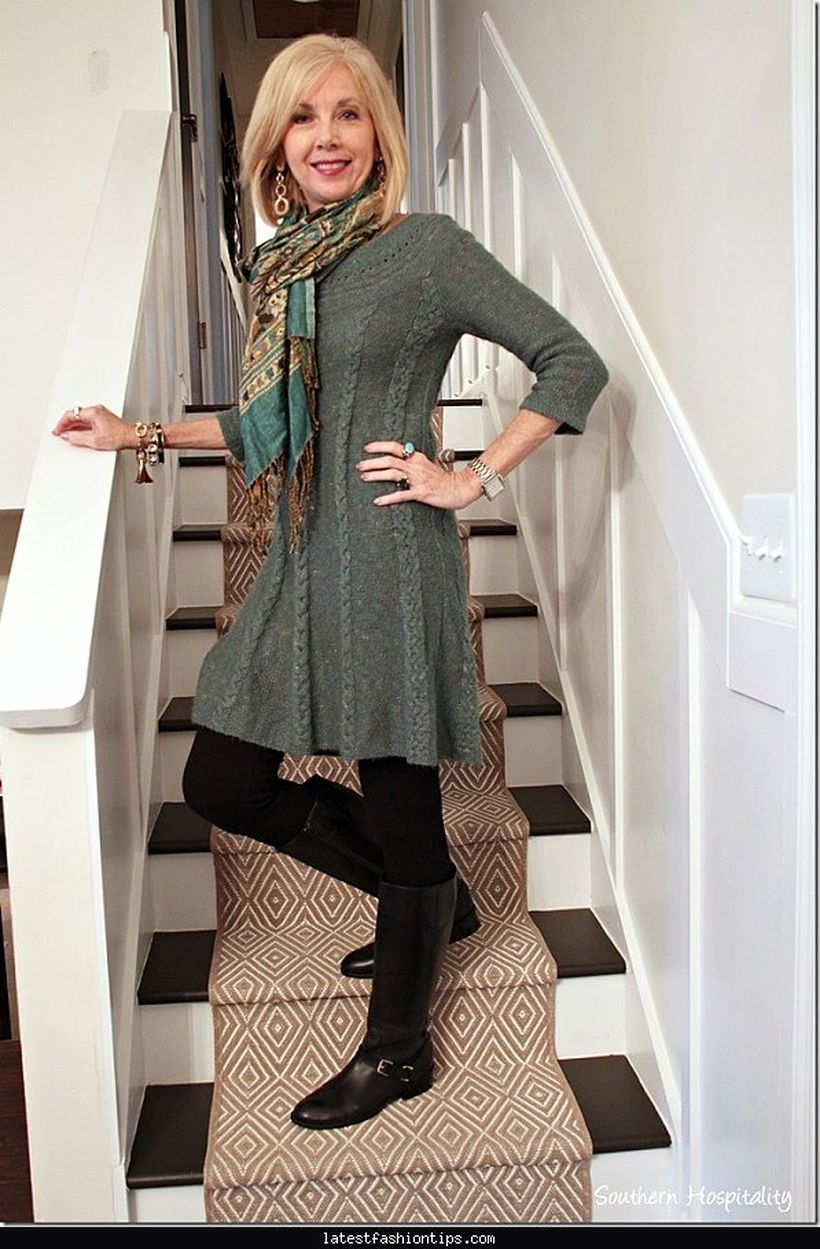 Fashionable over 50 fall outfits ideas 83